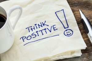 Positivity can help to reduce stress