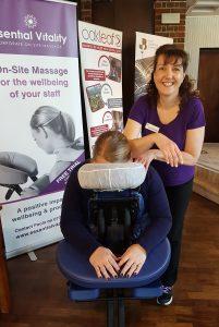 Demonstration of On-Site Massage