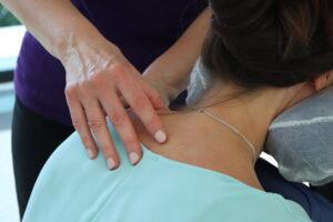 Shoulder Massage - On-Site chair massage