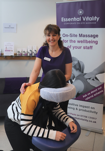 Essential Vitality's On-Site Massage services