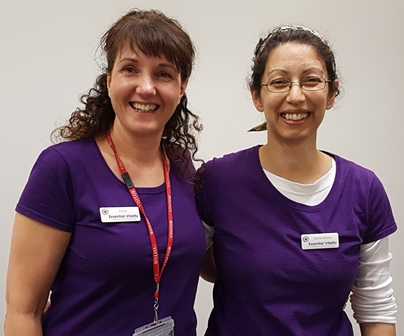 Paola and Anne-Marie - Essential Vitality Team