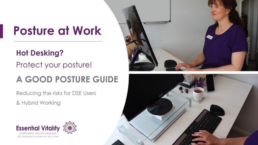 Good Posutre at work image